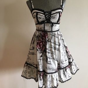 Hot Topic Music Notes Dress